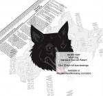 Mudi Dog Intarsia or Yard Art Woodworking Plan