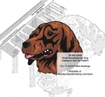 05-WC-0599 - Small Munsterlander Dog Intarsia or Yard Art Woodworking Plan