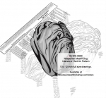 fee plans woodworking resource from WoodworkersWorkshop� Online Store - Neapolitan Mastiff dogs,pets,animals,dog breeds,intarsia,yard art,painting wood crafts,scrollsawing patterns,drawings,plywood,plywoodworking plans,woodworkers projects,workshop blueprints