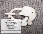 Elephant Pet Pin PLUS Hummingbird Scrollsaw Woodworking Plan