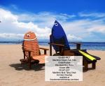 Maritime Clown Fish Kids Chair and Rocker Woodworking Plan