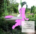 Childrens Fairy Rope Swing Yard Art Woodworking Pattern