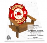 Volunteer Fire and Rescue Chair Number 3 Woodworking Pattern woodworking plan