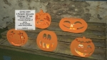 05-WC-0694 - Pumpkin Silhouette Woodworking Set of 5 Patterns PLUS 5 Bonus Drawings