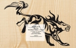 Big Cat Scrollsaw Woodworking Pattern