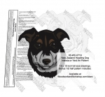 New Zealand Heading Dog Intarsia or Yard Art Woodworking Pattern