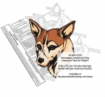 Norwegian Lundelund Dog Intarsia or Yard Art Woodworking Pattern woodworking plan