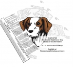 Old Croatian Sighthound Intarsia or Yard Art Woodworking Pattern woodworking plan