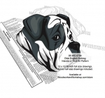 Olde English Bulldog Intarsia or Yard Art Woodworking Pattern