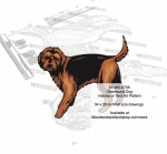 Otterhound Dog Yard Art Woodworking Pattern woodworking plan