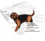 Otterhound Dog Yard Art Woodworking Pattern