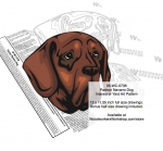 Pachon Navarro Dog Intarsia or Yard Art Woodworking Pattern