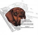 Pachon Navarro Dog Intarsia or Yard Art Woodworking Pattern