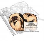 Pekingese Dog Scrollsaw Intarsia or Yard Art Woodworking Pattern