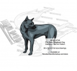 Phu Quoc Ridgeback Dog Scrollsaw Intarsia Woodworking Pattern woodworking plan