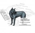 Phu Quoc Ridgeback Dog Scrollsaw Intarsia Woodworking Pattern