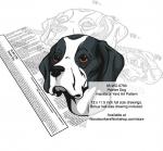 Pointer Dog Scrollsaw Intarsia or Yard Art Woodworking Pattern