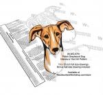 Polish Greyhound Dog Scrollsaw Intarsia - Yard Art Woodworking Pattern