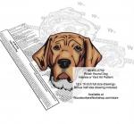 Polish Hound Dog Scrollsaw Intarsia or Yard Art Woodworking Pattern