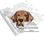 Polish Hound Dog Scrollsaw Intarsia or Yard Art Woodworking Pattern woodworking plan