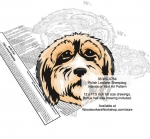Polish Lowland Sheepdog Scrollsaw Intarsia - Yard Art Woodworking Plan