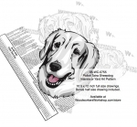 Polish Tatra Dog Scrollsaw Intarsia or Yard Art Woodworking Plan