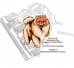 Pomeranian Dog Scrollsaw Intarsia or Yard Art Woodworking Plan