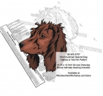 Pont-Audemer Spaniel Dog Scrollsaw Intarsia-Yard Art Woodworking Plan