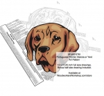 Portuguese Pointer Dog Intarsia or Yard Art Woodworking Pattern