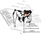 Rat Terrier Dog Intarsia - Yard Art Woodworking Pattern