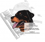 fee plans woodworking resource from WoodworkersWorkshop� Online Store - Rottweiler Dogs,pets,animals,dogs,breeds,instarsia,yard art,painting wood crafts,scrollsawing patterns,drawings,plywood,plywoodworking plans,woodworkers projects,workshop blueprints