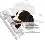 Russian Spaniel Dog Intarsia - Yard Art Woodworking Pattern