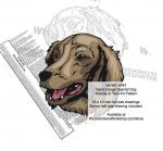 Saint-Usuge Spaniel Dog Intarsia - Yard Art Woodworking Pattern