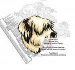 Sapsali Dog Intarsia - Yard Art Woodworking Pattern
