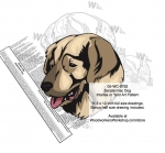 Sarplaninac Dog Intarsia - Yard Art Woodworking Pattern