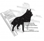 fee plans woodworking resource from WoodworkersWorkshop� Online Store - Schipperke Dogs,pets,animals,dogs,breeds,instarsia,yard art,painting wood crafts,scrollsawing patterns,drawings,plywood,plywoodworking plans,woodworkers projects,workshop blueprints