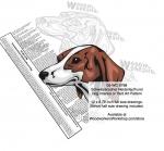 Schweizerischer Neiderlaufhund Dog Intarsia Yard Art Woodworking Plan