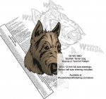 Scottish Terrier Dog Intarsia Yard Art Woodworking Plan
