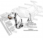 Sealyham Terrier  Dog Intarsia Yard Art Woodworking Plan