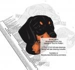 Slovensky Kopov Dog Intarsia Yard Art Woodworking Plan