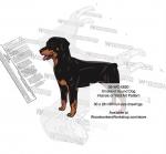 Smaland Hound Dog Intarsia Yard Art Woodworking Plan