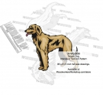 05-WC-0836 - Taigan Dog Intarsia Yard Art Woodworking Plan