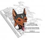 Tenterfield Terrier Dog Intarsia Yard Art Woodworking Plan