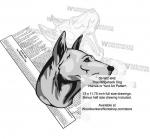 Thai Ridgeback Dog Intarsia Yard Art Woodworking Plan
