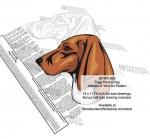 Trigg Hound Coonhound Dog Intarsia Yard Art Woodworking Plan