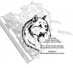 Volpino Italiano Dog Intarsia Yard Art Woodworking Plan