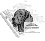 05-WC-0857 - Weimaraner Dog Intarsia Yard Art Woodworking Plan