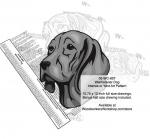 Weimaraner Dog Intarsia Yard Art Woodworking Plan