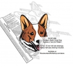 Cardigan Welsh Corgi Dog Intarsia Yard Art Woodworking Plan