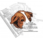 05-WC-0860 - Welsh Sheepdog Dog Intarsia Yard Art Woodworking Plan